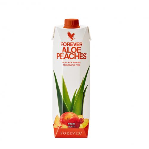 Forever Aloe Peaches , Aloes forever z brzoskwiniami 1000ml bez konserwantów