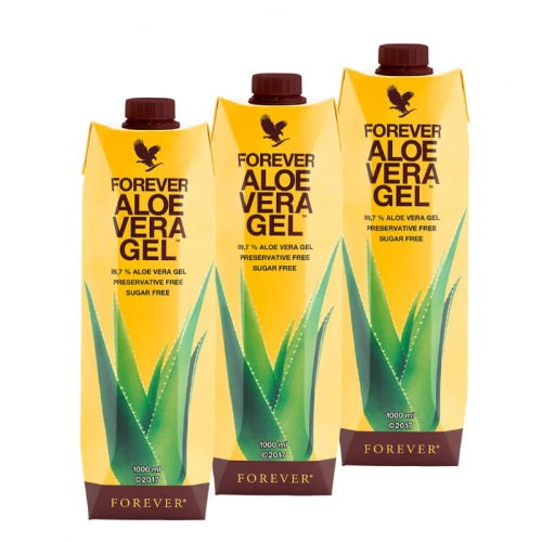 Forever Aloe Vera Gel Trójpak, 3 sztuki Aloe Vera Gekl Forever